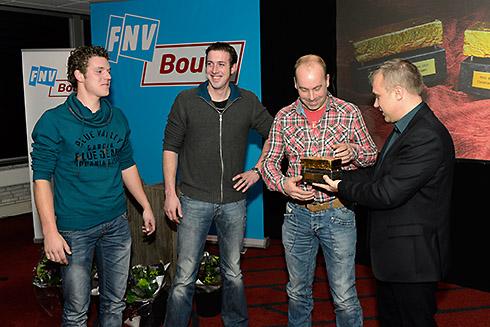 Winnaar Gouden Straatsteen 2013